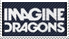 Imagine Dragons Fan Stamp by lantry1
