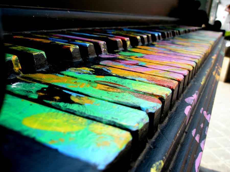 colorful piano by cocomagnolia on deviantart