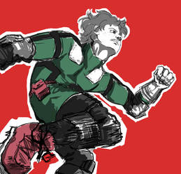 Izuku Midoriya - man of action