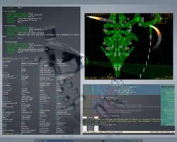 Gentoo + Fluxbox + aterm