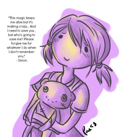 Little Marceline Sketch - I Remember You by Kasugaxoxo