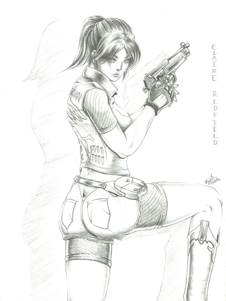 Claire Redfield by Testament-Ferenand