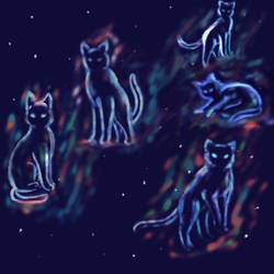 StarClan's northern Spirits by Iyna08
