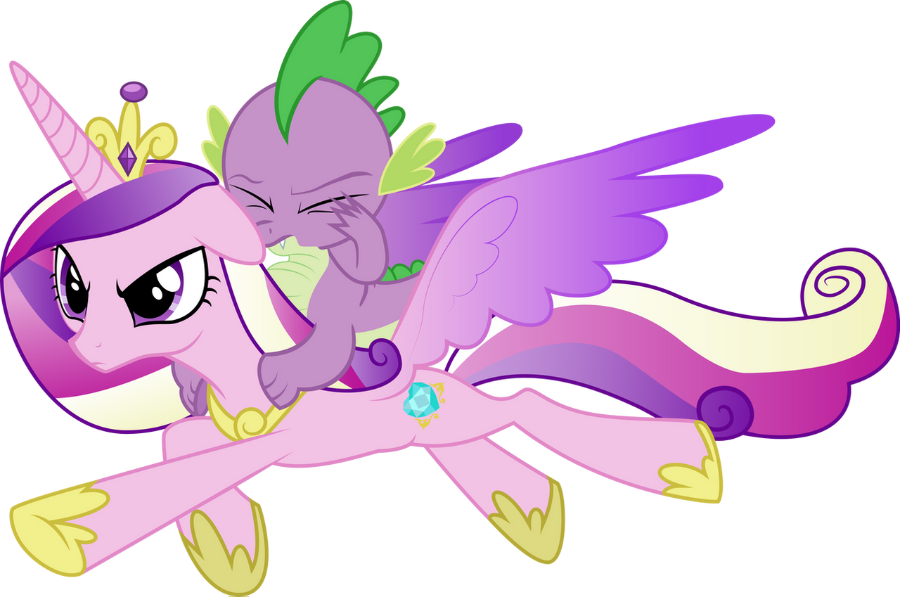 Princesa Candace y Spike by rainbownspeedash