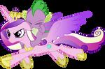 Princesa Candace y Spike