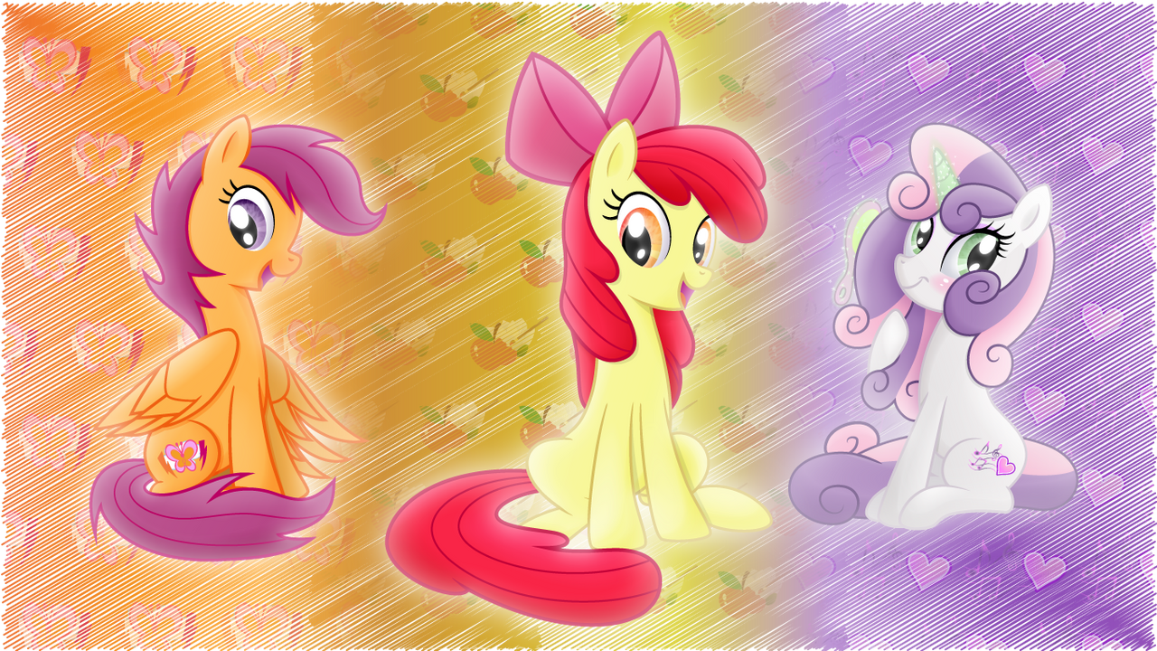 CMC-wallpaper by rainbownspeedash