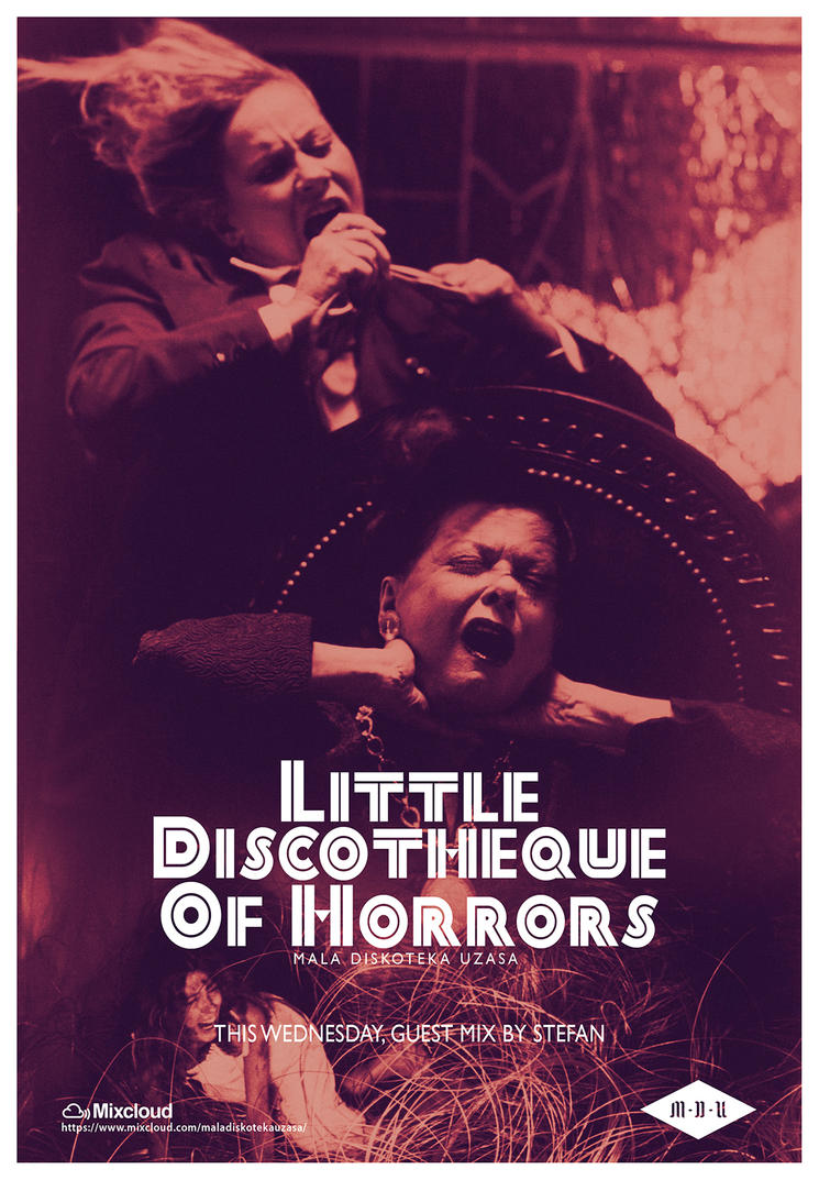 Little Discotheque Of Horrors (Suspiria Poster 2) by DustGraph