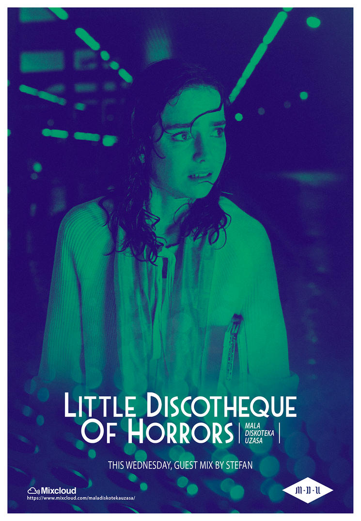 Little Discotheque Of Horrors (Suspiria Poster 3) by DustGraph