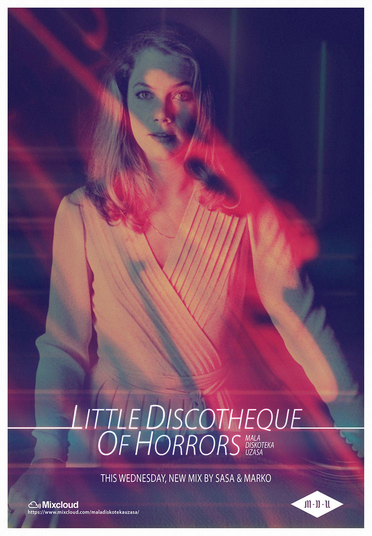 Little Discotheque Of Horrors (Body Heat Poster 1) by DustGraph
