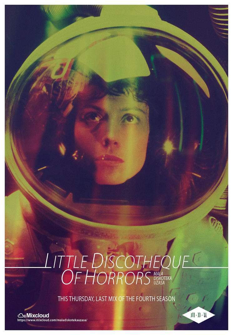 Little Discotheque Of Horrors (Alien) by DustGraph