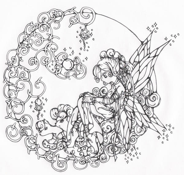 Fairy Contemplation for 2009 by vulpixfairy on DeviantArt