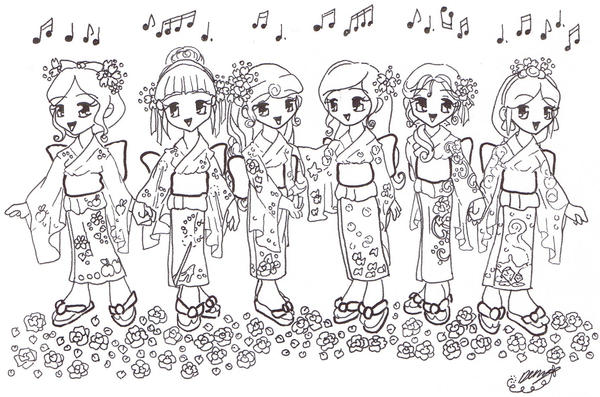 disney chibis coloring pages - photo#30