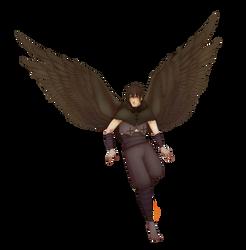 {AT}Flying away