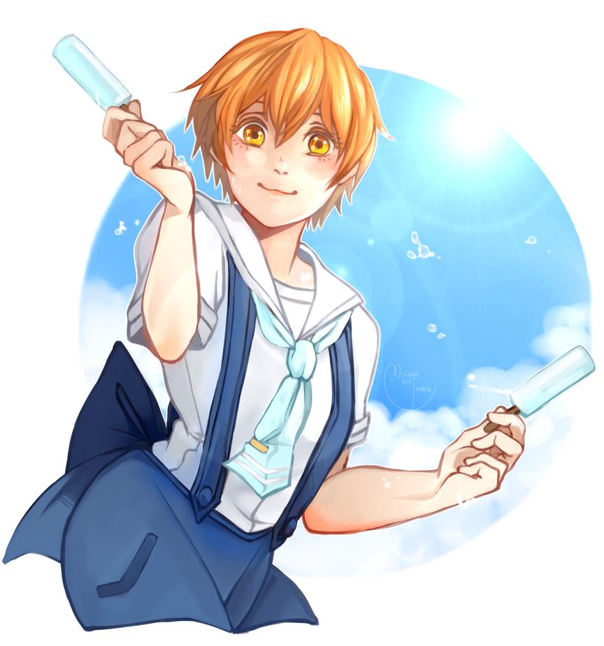Hoshizora Rin (Unidolised Sailor SR) by Mishhe-KHT