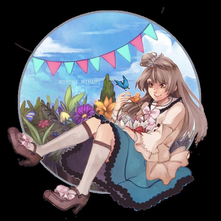 Easter Kotori! by Mishhe-KHT