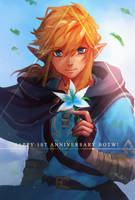 Breath of the Wild : One Year! by Mishhe-KHT