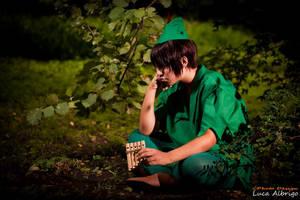 Peter Pan - Wanna play? by AxelTakahashiVIII
