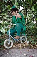 Peter Pan - Mah magic bike by AxelTakahashiVIII
