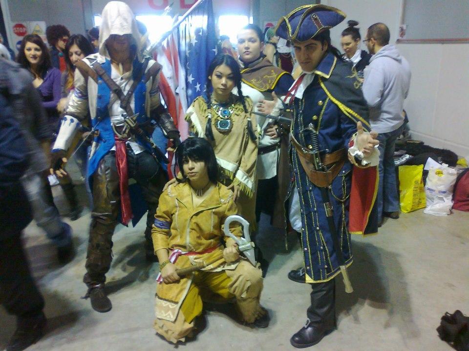 Assassin S Creed Iii Kenway Family By Axeltakahashiviii On