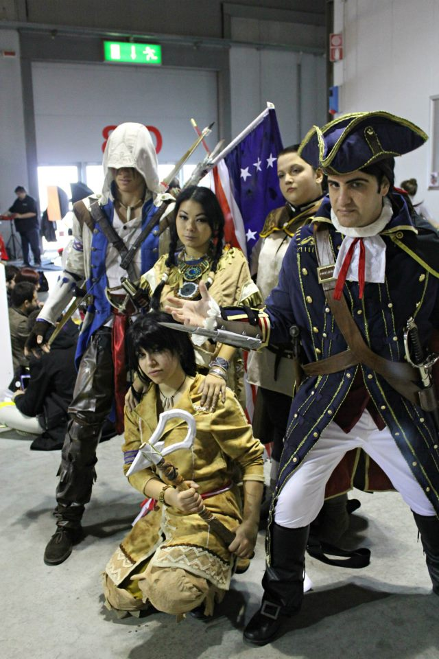 Assassin's Creed III : Family Portrait by AxelTakahashiVIII