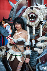 Nidalee and Rengar Cosplay League Of Legends