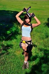 Lara Croft Cosplay Tomb Raider by AxelTakahashiVIII