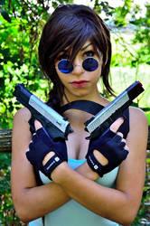 Lara Croft Tomb Raider Cosplayer by AxelTakahashiVIII