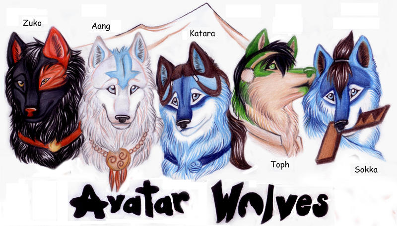 View topic - ATLA - Elemental Wolves - Chicken Smoothie