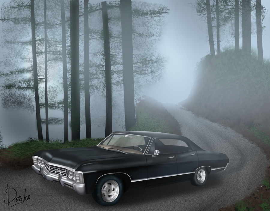 supernatural car impala wallpaper - photo #37