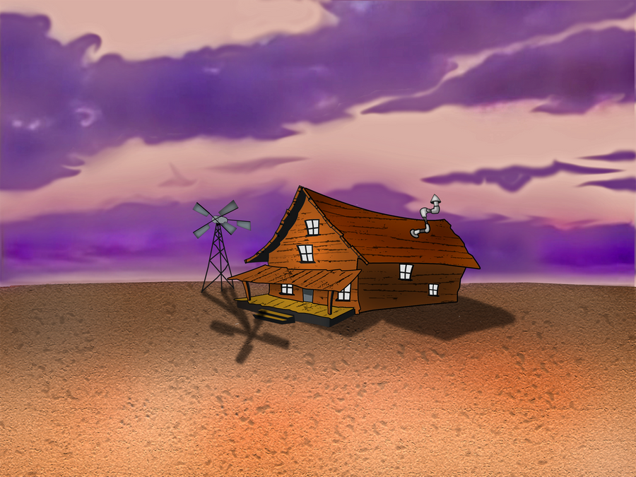 Real Life Courage The Cowardly Dog House