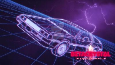 DeLorean Blues by BETACRYSTAL