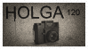 HOLGA 120 Stamp by RowennaCox