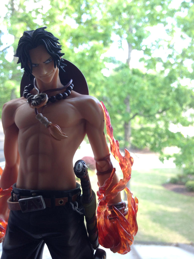 Portgas D. Ace Figure #2 by OnePieceZoroForever