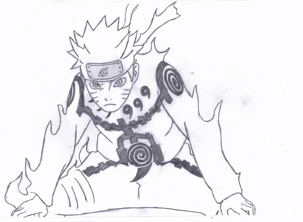 Naruto - Bijuu Mode by JordanFolk2012 on DeviantArt