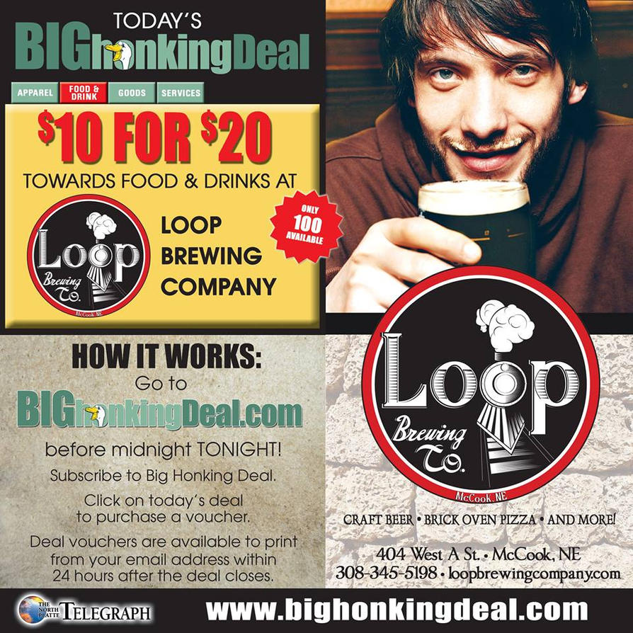 Advertising - Loop Brewing Co. by Prairie-Princess