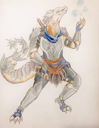 Dragonborn Vyrist by Iffondrel