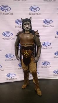 Khajiit (Skyrim, Elder Scrolls) at Wondercon 2014