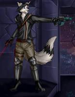 Johny Fox Space Pirate by Johny-Fox
