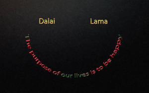 Dalai Lama - happyness by koalafishy