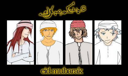 BLEACH BOYS EID SPECIAL by doodee