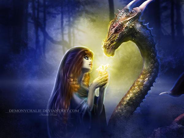 Dragon My Light Lover By Natiatvii On Deviantart