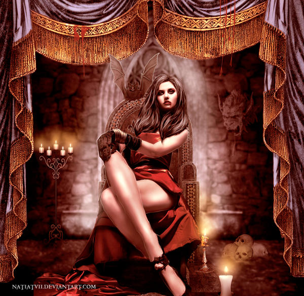 .: Transylvanian Concubine :. by NatiatVII
