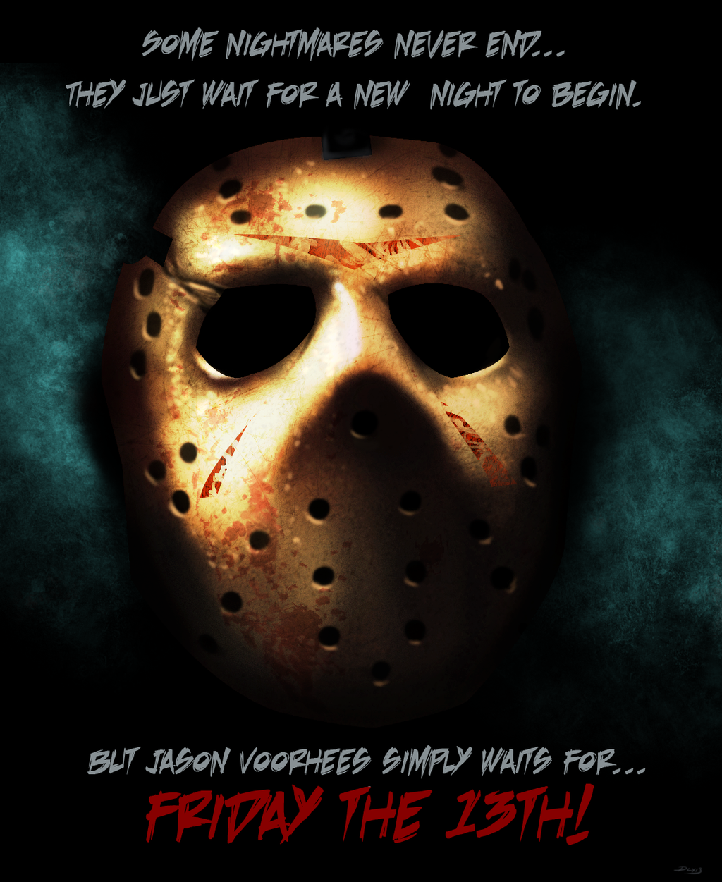 Jason by dwaynebiddixart