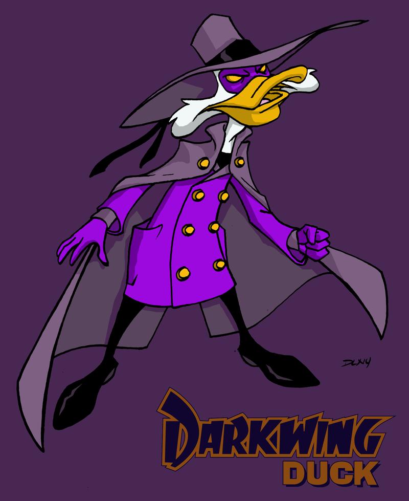 Darkwing Duck by dwaynebiddixart
