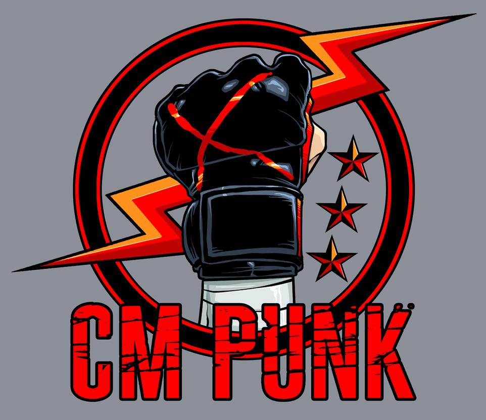 Cm Punk Ufc by dwaynebiddixart