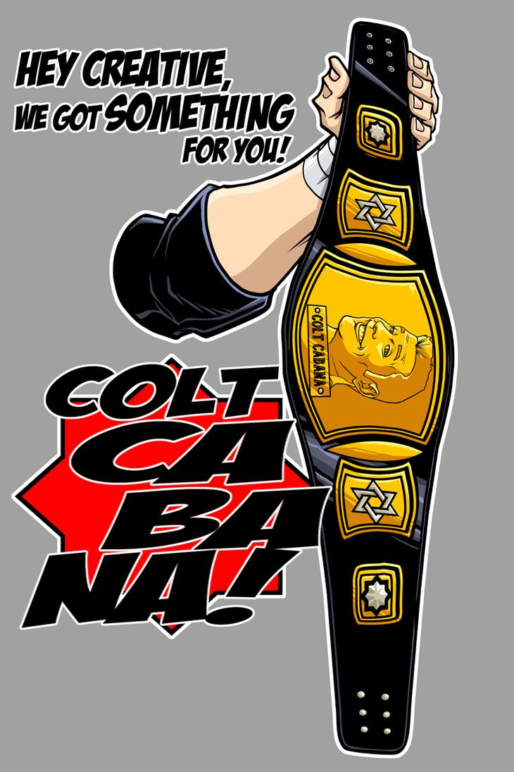Colt Cabana Hey Creative by dwaynebiddixart