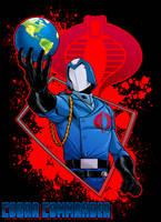 Cobra Commander by dwaynebiddixart
