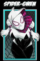 Spider-Gwen by dwaynebiddixart