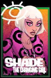 Shade the Changing Girl by dwaynebiddixart