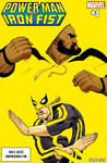 Power Man and Iron Fist mock cover.